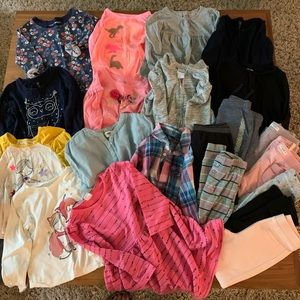 Lot of 4T Fall/Winter Girls Clothes